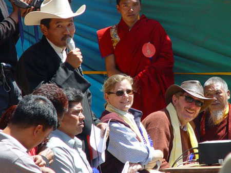 Mayor of Namche Bazar, Helen Cawley, Michael Schmitz