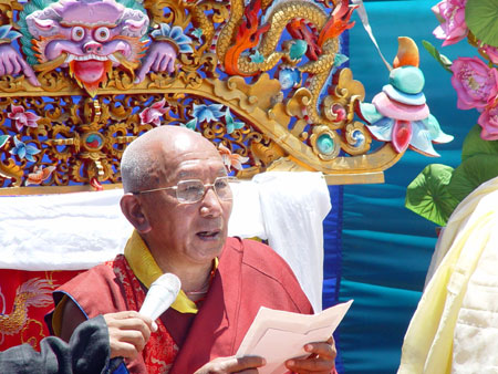 His Holiness Ngawang Tenzin Zangbu, Head Lama of Tengboche Monastery