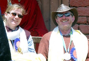 2003 Hillary Medalists Cawley and Schmitz