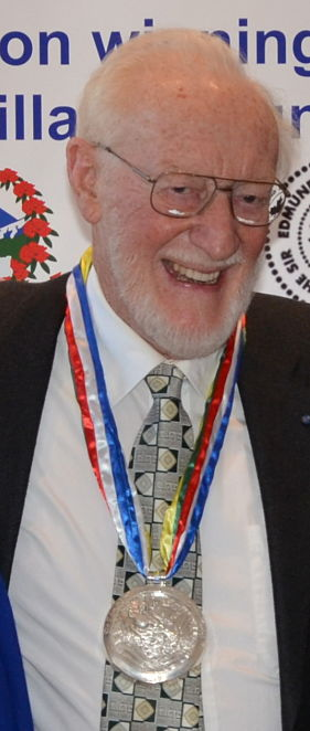 Dr. Jack D. Ives, winner of Sir Edmund Hillary Mountain Legacy Medal for Lifetime Achievement